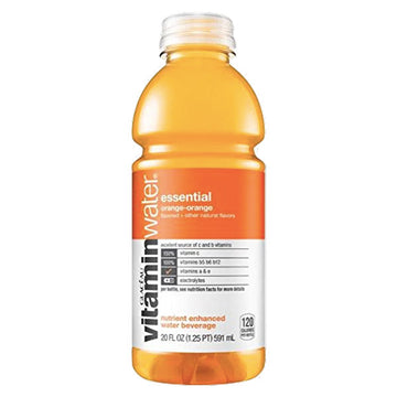 Vitaminwater Bottle, Essential Orange, 20oz.
