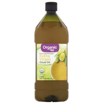 Great Value Organic Extra Virgin Olive Oil, 51 fl oz