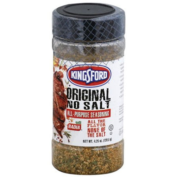 Badia Kingsford Original No Salt Seasoning, 4.25 oz