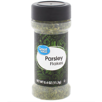 Great Value Parsley Flakes, 0.4 oz