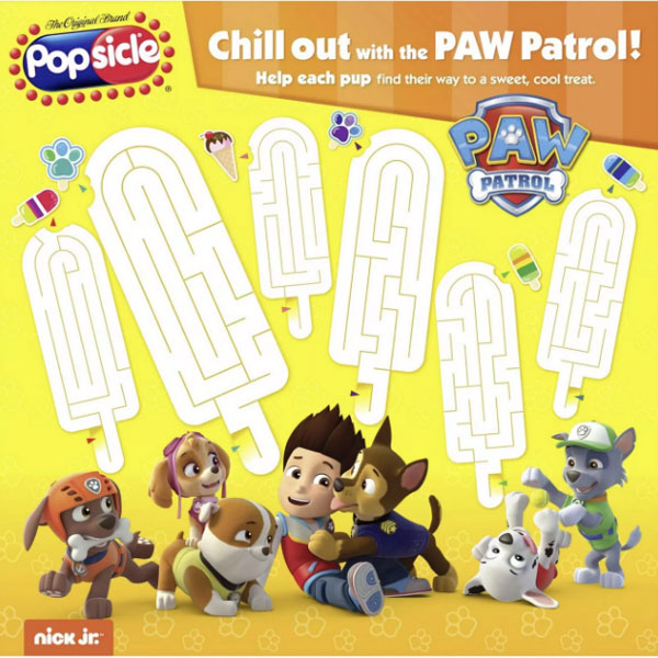 Popsicle Paw Patrol Pop - 18 Ct - Water Butlers
