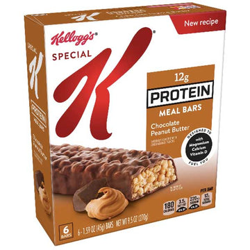 Kellogg's Special K Protein Meal Bar, Chocolate Peanut Butter, 6 Ct