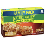 Nature Valley Sweet & Salty Nut Peanut Granola Bars 15 Ct - Water Butlers