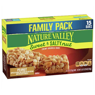 Nature Valley Sweet & Salty Nut Peanut Granola Bars 15 Ct