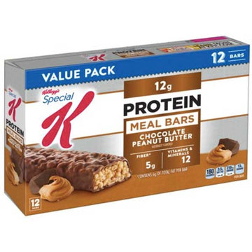 Kellogg's Special K Protein Meal Bar, Chocolate Peanut Butter, 12 Ct