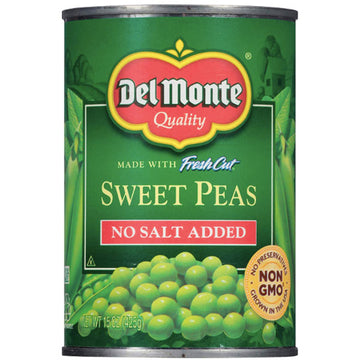 Del Monte Fresh Cut Sweet Peas, 15.25 oz