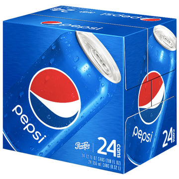 Pepsi Regular 12 fl oz, 24 Pack