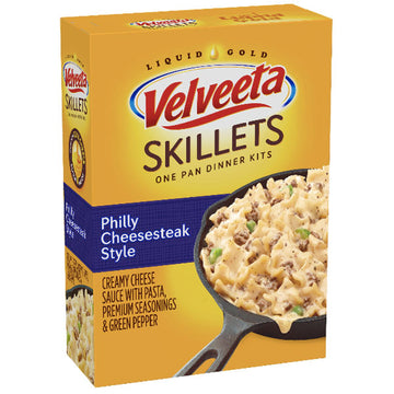 Velveeta Skillets Philly Cheesesteak Dinner Kit, 12.2 oz