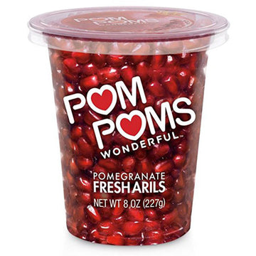 POM POMS Ready-to-Eat Pomegranate Arils, 8 oz.
