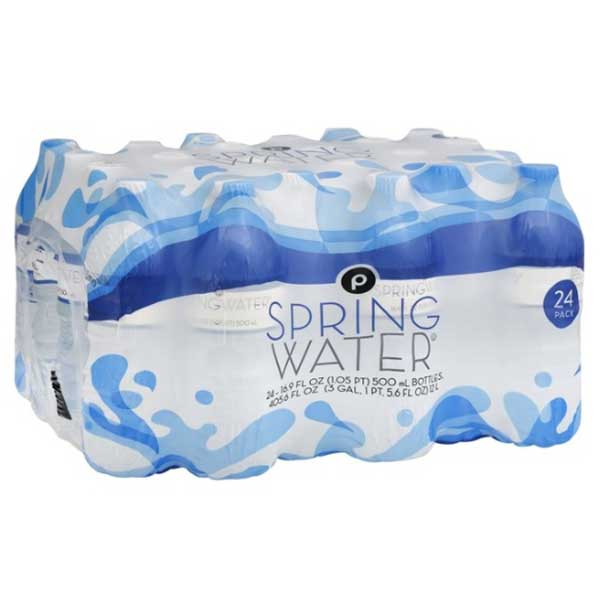 Publix Spring Water, 16.9 fl oz, 24 Pack - Water Butlers