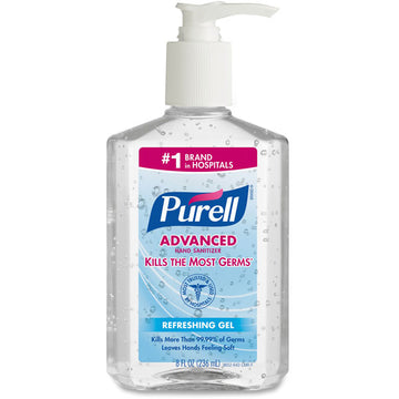 Purell Advanced Instant Hand Sanitizer, 8 fl oz
