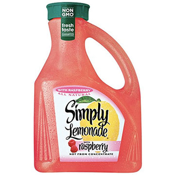 Simply Lemonade with Raspberry, 89 fl Oz