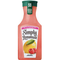 Simply Lemonade with Raspberry, 59.1 fl Oz - Water Butlers