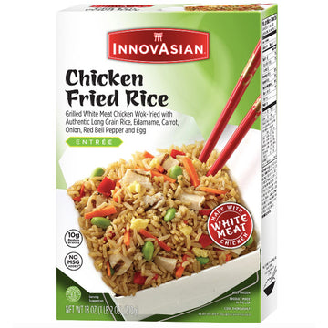InnovAsian Frozen Chicken Fried Rice, 18 oz