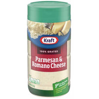 Kraft Grated Parmesan and Romano Cheese, 8 oz - Water Butlers