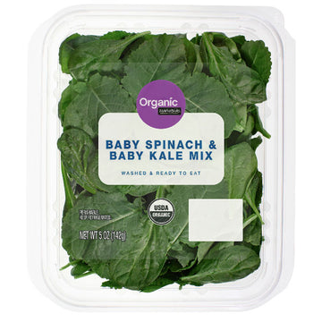 Marketside Organic Baby Spinach & Baby Kale Mix, 5 oz