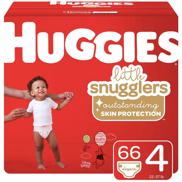 Huggies Baby Diapers Jumbo Pack - Size 4 (66 Count) - Water Butlers