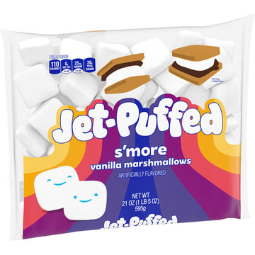 Jet-Puffed S'more Mallows Marshmallows, 21 oz