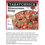 Tabatchnick Minestrone Soup, 15 oz - Water Butlers