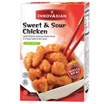 InnovAsian Sweet & Sour Frozen Chicken, 18 oz