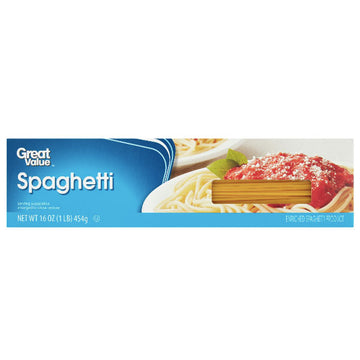 Great Value Spaghetti Pasta, 16 oz