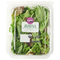 Marketside Organic Spinach & Spring Mix Salad, 5.5 oz - Water Butlers