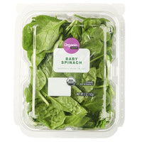 Marketside Organic Baby Spinach Salad, 5 oz - Water Butlers
