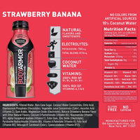 BodyArmor Sports Drink, Strawberry Banana, 12 Fl. oz. 8 Ct - Water Butlers