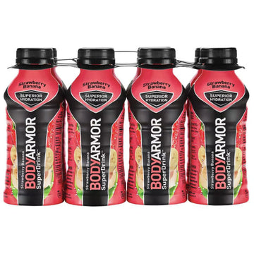 BodyArmor Sports Drink, Strawberry Banana, 12 Fl. oz. 8 Ct
