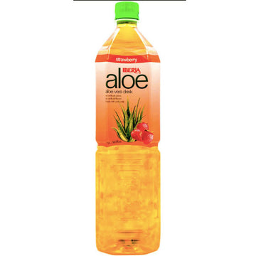 Iberia Aloe Strawberry Aloe Vera Juice - 1.5L