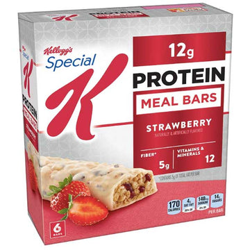 Kellogg's Special K Protein Meal Bar, Strawberry, 6 Ct
