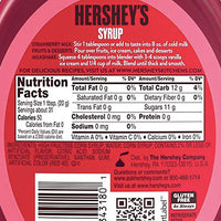 Hershey's Strawberry Syrup, 22oz - Water Butlers
