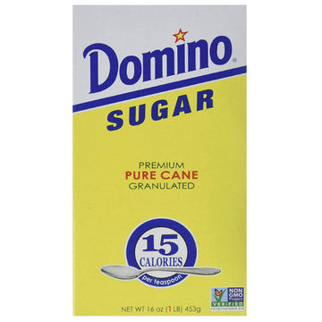 Domino Premium Pure Cane Granulated Sugar, 16 oz