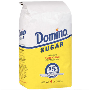 Domino Premium Pure Cane Granulated Sugar, 4 lb