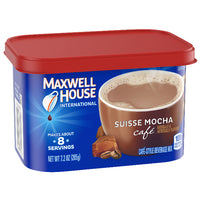 Maxwell House Suisse Mocha Cafe Mix Coffee, 7.2 oz - Water Butlers