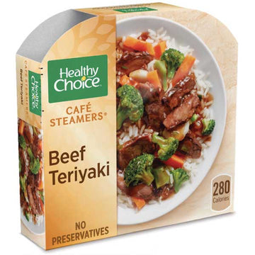 Healthy Choice Beef Teriyaki, 9.5 oz