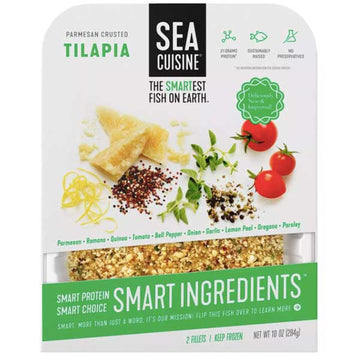 Sea Cuisine Parmesan Crusted Tilapia Fillets, 10 oz