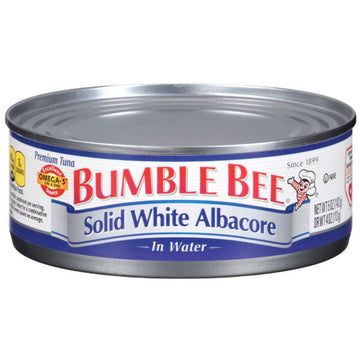 Bumble Bee Solid White Albacore Tuna in Water, 5oz