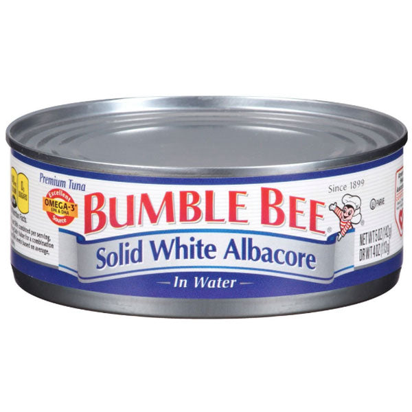 Bumble Bee Solid White Albacore Tuna in Water, 5oz - Water Butlers