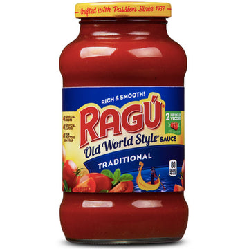 Ragú Old World Style Traditional Sauce, 24 oz.