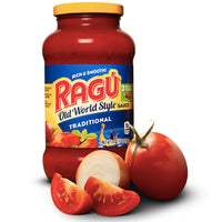 Ragú Old World Style Traditional Sauce, 24 oz. - Water Butlers