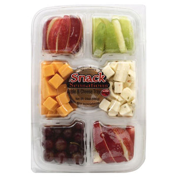 Snack Sensations Apple & Cheese Tray, with Caramel Dip, 32 oz.