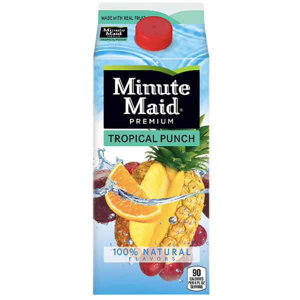 Minute Maid Premium Tropical Punch, 59 Fl. Oz. - Water Butlers