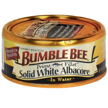 Bumble Bee Prime Fillet Solid White Albacore Tuna in Water, 5oz