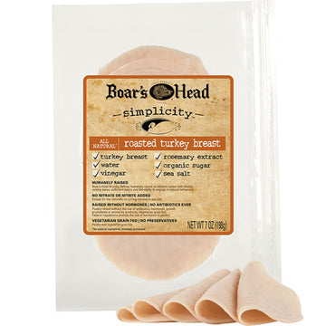 Simplicity All Natural* Roasted Turkey Breast, 7 oz.