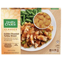 Healthy Choice Golden Roasted Turkey Breast, 10.5 oz - Water Butlers