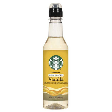 Starbucks Vanilla Coffee Syrup Bottle 12.17 fl. oz