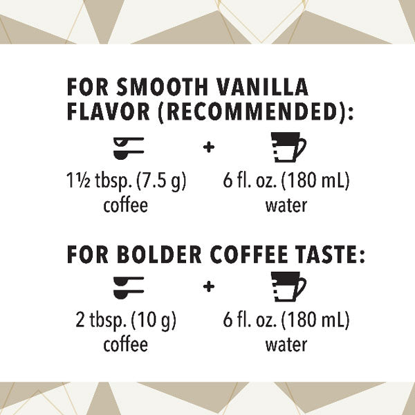 Starbucks Ground Coffee Vanilla, No Artificial Flavors, 11 oz - Water Butlers