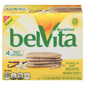 BelVita Breakfast Biscuits, Vanilla Oat, 5 Ct