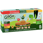 GoGo squeeZ Applesauce, Apple, Banana, Strawberry 3.2oz, 12 Ct - Water Butlers